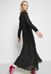 Monki - BRIELLE DRESS - Maxi-jurk - black dark - 3