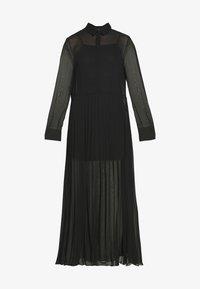 Monki - BRIELLE DRESS - Maxi-jurk - black dark - 4