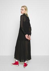 Monki - BRIELLE DRESS - Maxi-jurk - black dark - 2