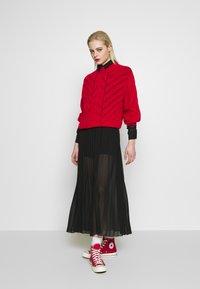 Monki - BRIELLE DRESS - Maxi-jurk - black dark - 1