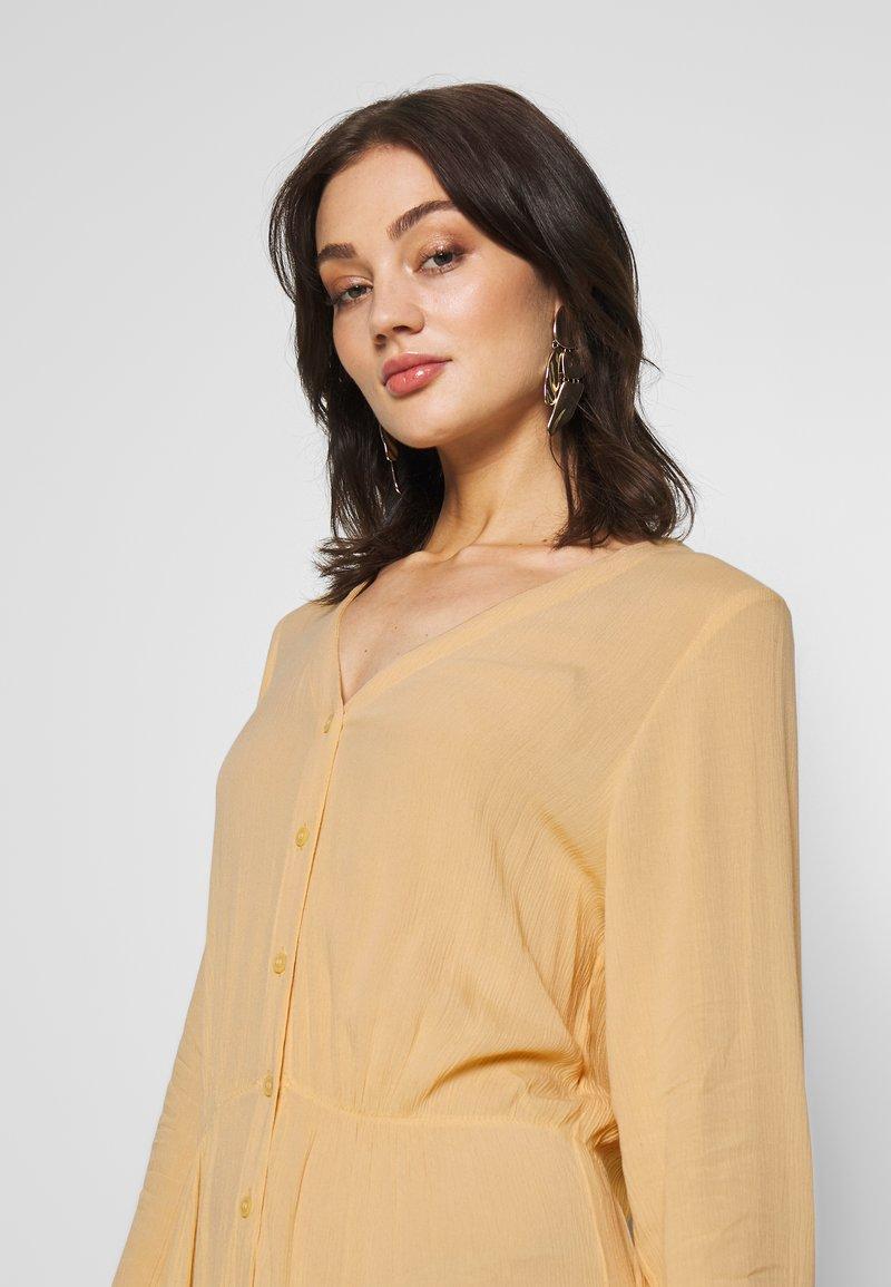 Monki - CARIE DRESS - Maxi-jurk - beige