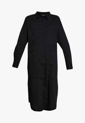 JAY POCKET DRESS - Skjortekjole - black