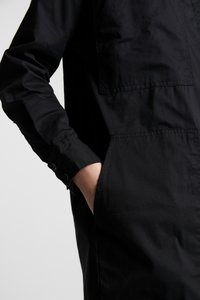 Monki - JAY POCKET DRESS - Skjortekjole - black - 5