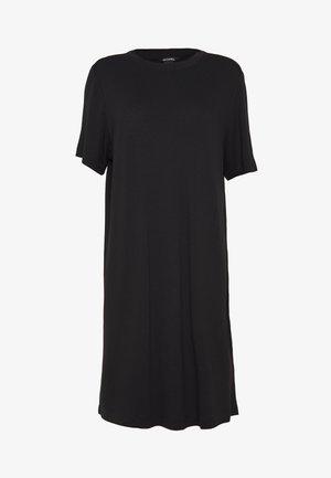 KARINA DRESS - Žerzejové šaty - black