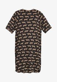Monki - RIKA DRESS - Jersey dress - brown - 3