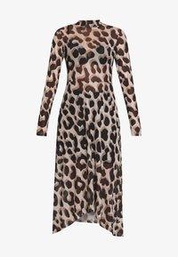Monki - CECILIA DRESS - Maxi-jurk - beige - 4