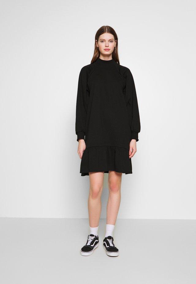 ULLIS DRESS - Sukienka letnia - black dark