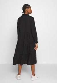 Monki - PEARL DRESS - Skjortekjole - black dark unique - 2