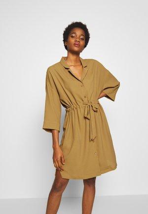 ROSSY DRESS - Robe chemise - beige dark solid