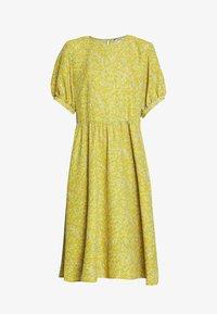 Monki - THORA DRESS - Hverdagskjoler - yellow - 4