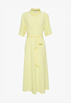 ADRIANA DRESS - Skjortekjole - yellow