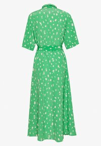Monki - ADRIANA DRESS - Skjortekjole - green - 1