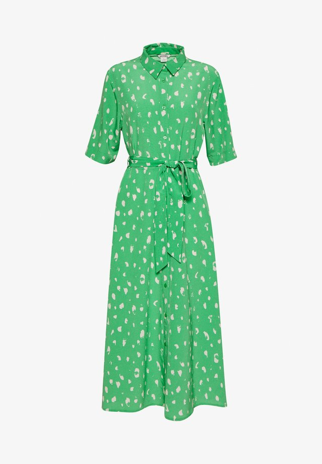 ADRIANA DRESS - Skjortekjole - green
