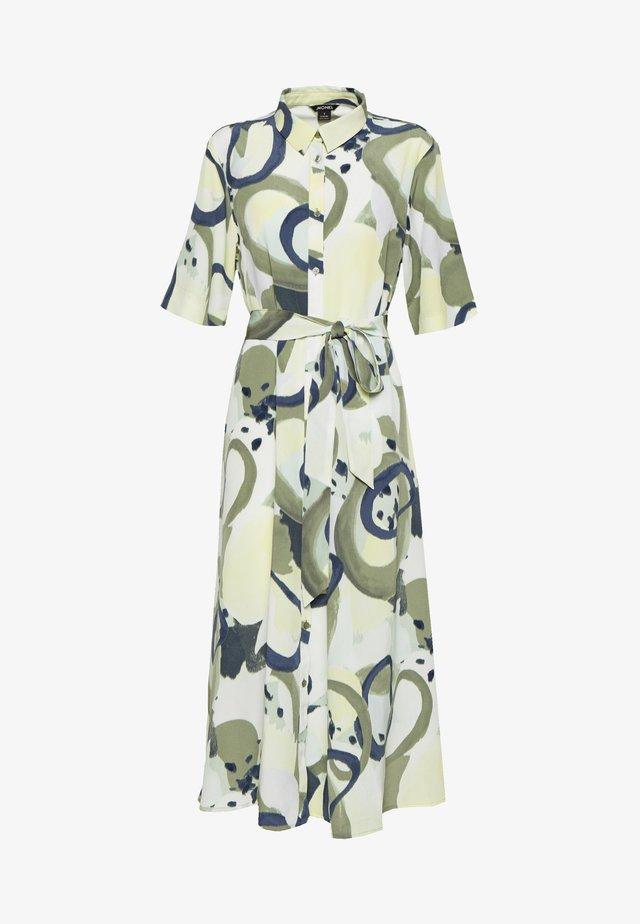 ADRIANA DRESS - Shirt dress - khaki