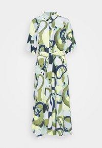 Monki - ADRIANA DRESS - Skjortekjole - khaki - 3