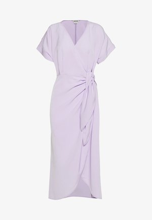 ENLIE WRAP DRESS - Korte jurk - lilac