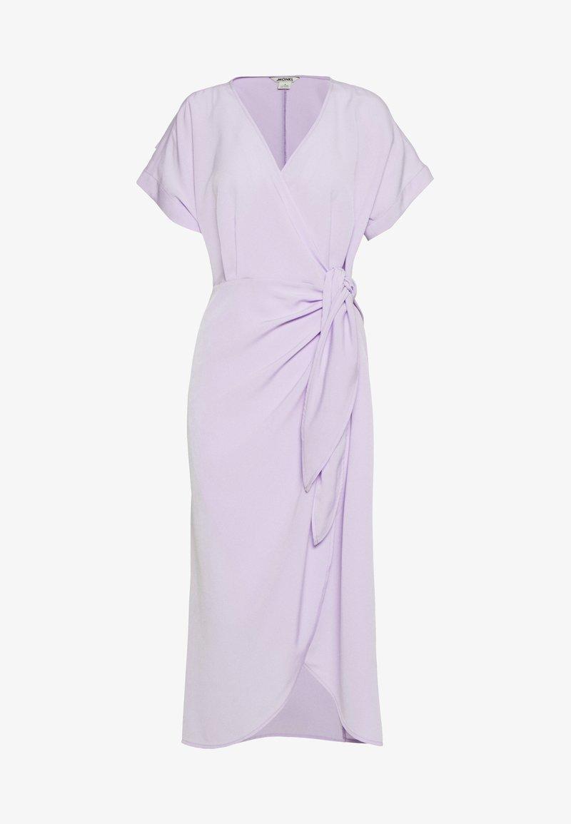 Monki - ENLIE WRAP DRESS - Hverdagskjoler - lilac