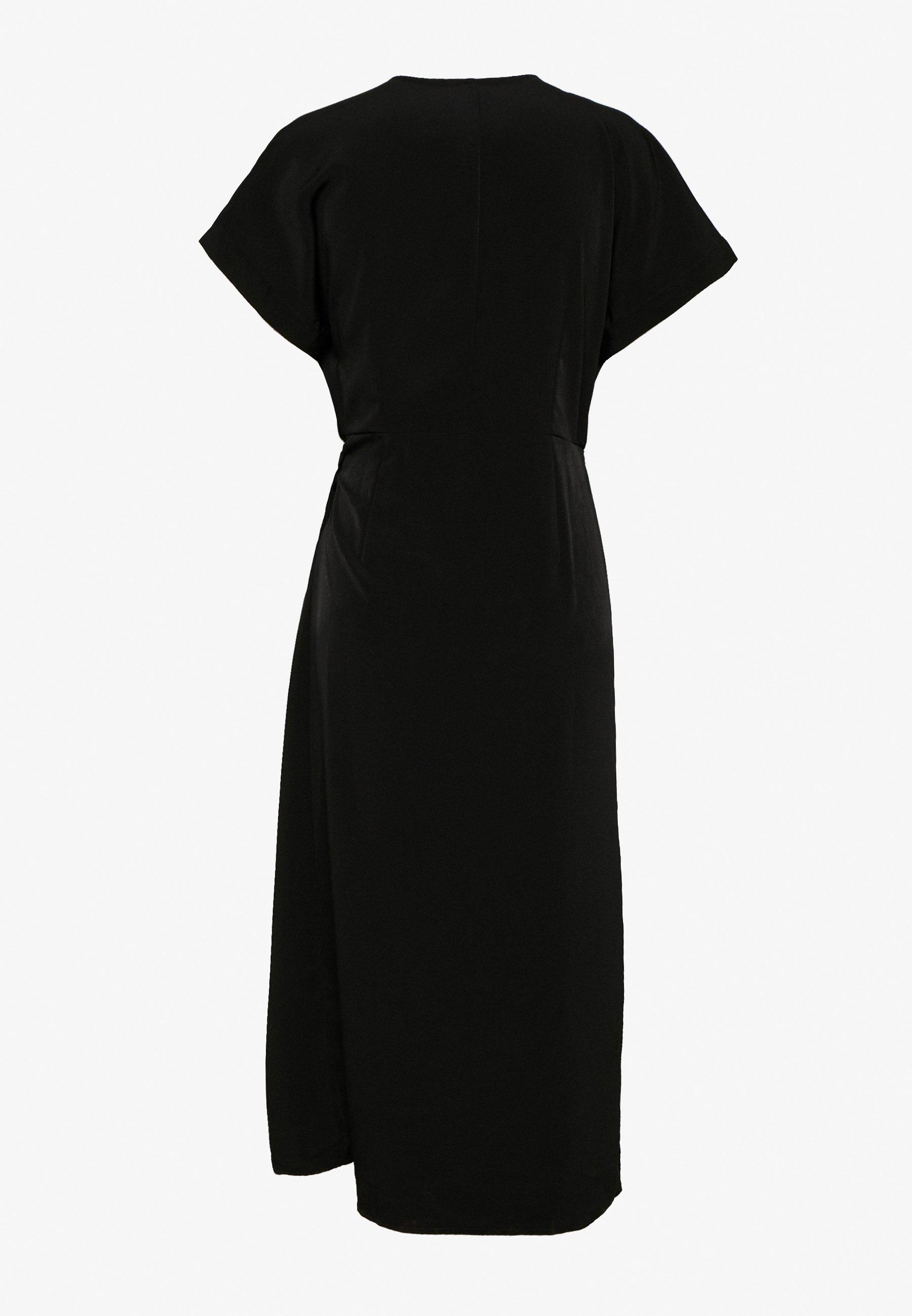 Monki Enlie Wrap Dress - Hverdagskjoler Black