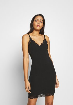 LINNIE DRESS - Jersey dress - black