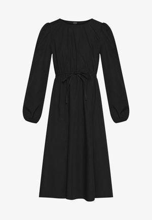 MALLAN DRESS - Sukienka letnia - black solid