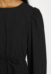 Monki - MALLAN DRESS - Kjole - black solid - 4