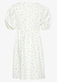 Monki - MELODY DRESS - Kjole - white light - 1