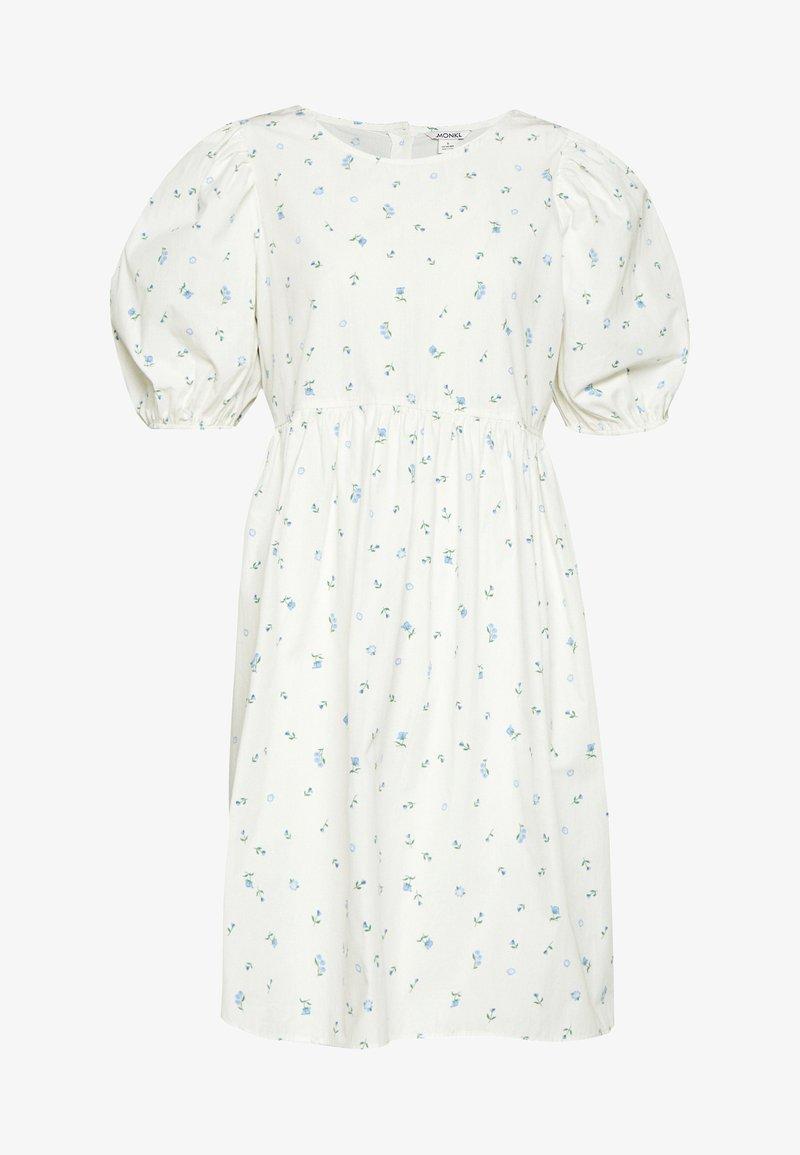 Monki - MELODY DRESS - Kjole - white light