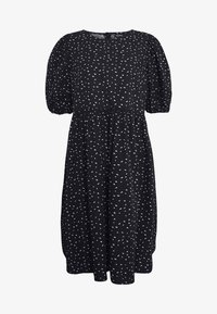 Monki - MELODY DRESS - Kjole - black dark/unique - 4