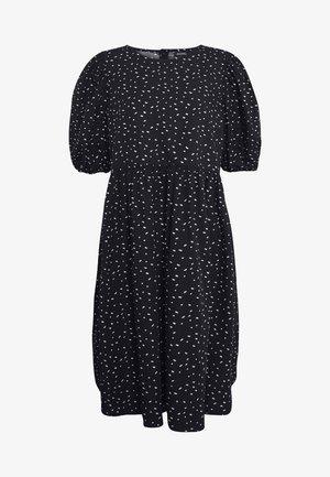 MELODY DRESS - Kjole - black dark/unique