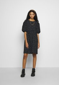 Monki - MELODY DRESS - Kjole - black dark/unique - 2