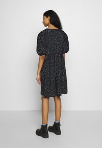 Monki - MELODY DRESS - Kjole - black dark/unique - 3