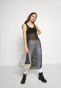 Monki - NAT DRESS - Denní šaty - black - 1