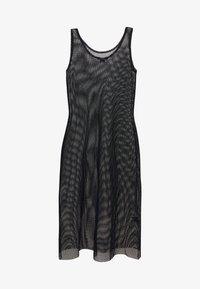 Monki - NAT DRESS - Denní šaty - black - 3