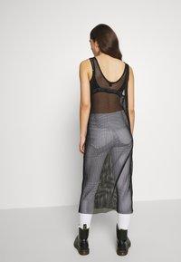 Monki - NAT DRESS - Denní šaty - black - 2