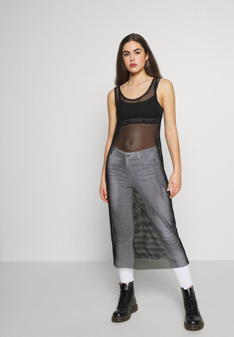 Monki - NAT DRESS - Denní šaty - black