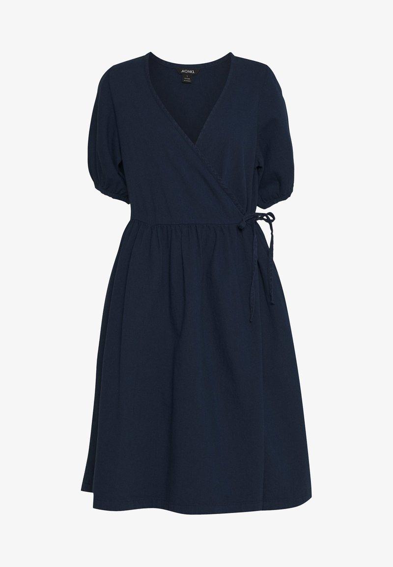 Monki - RAMONA DRESS - Kjole - blue medium dusty