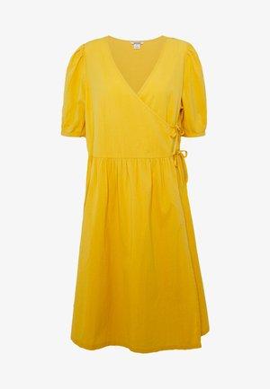 YOANA DRESS - Vestido informal - yellow medium dusty