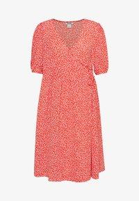 Monki - YOANA DRESS - Robe d'été - red - 0