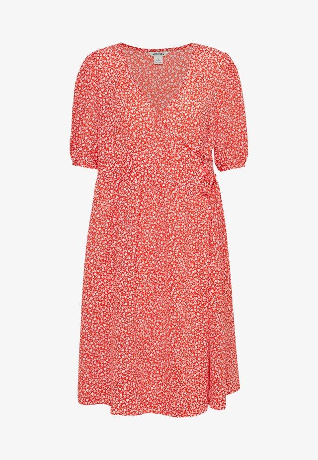 YOANA DRESS - Korte jurk - red