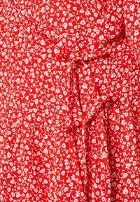 Monki - YOANA DRESS - Robe d'été - red - 2