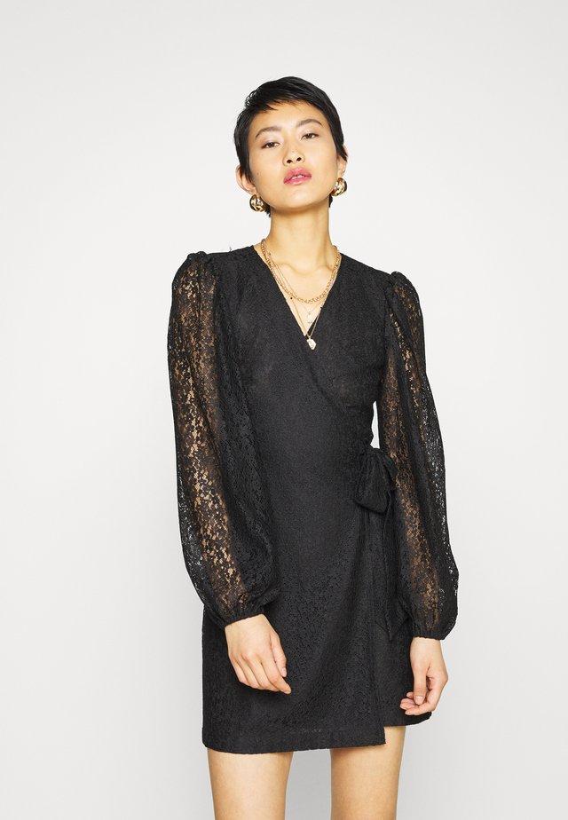 AMY DRESS - Sukienka koktajlowa - black
