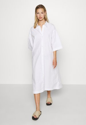 ELIN DRESS - Skjortekjole - white