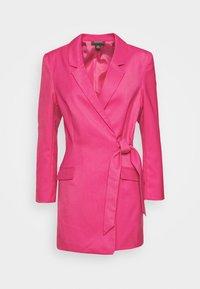 Monki - KAREN DRESS - Pouzdrové šaty - pink - 4