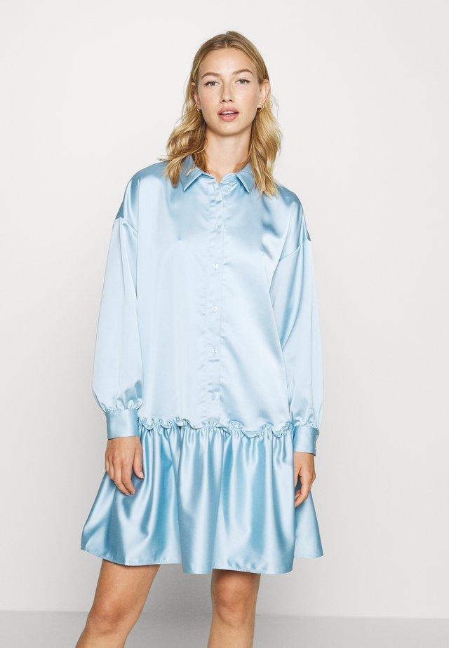 KARIN DRESS - Shirt dress - blue light