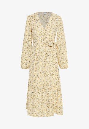 MARTINA DRESS - Day dress - yellow/medium dusty