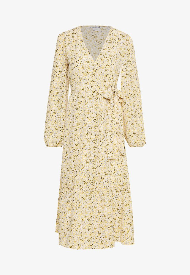 MARTINA DRESS - Vestido informal - yellow/medium dusty