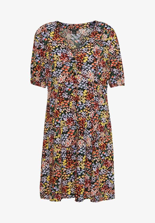 WINONA DRESS - Korte jurk - black