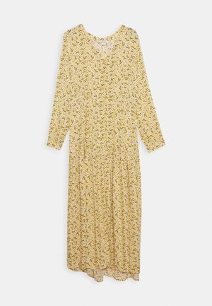 MINNA DRESS - Vestido camisero - yellow medium/dusty