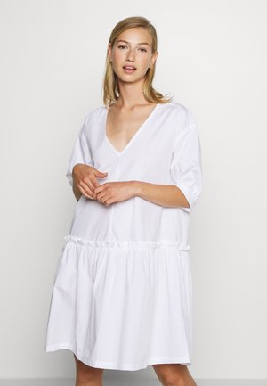 ROBIN DRESS - Korte jurk - white light
