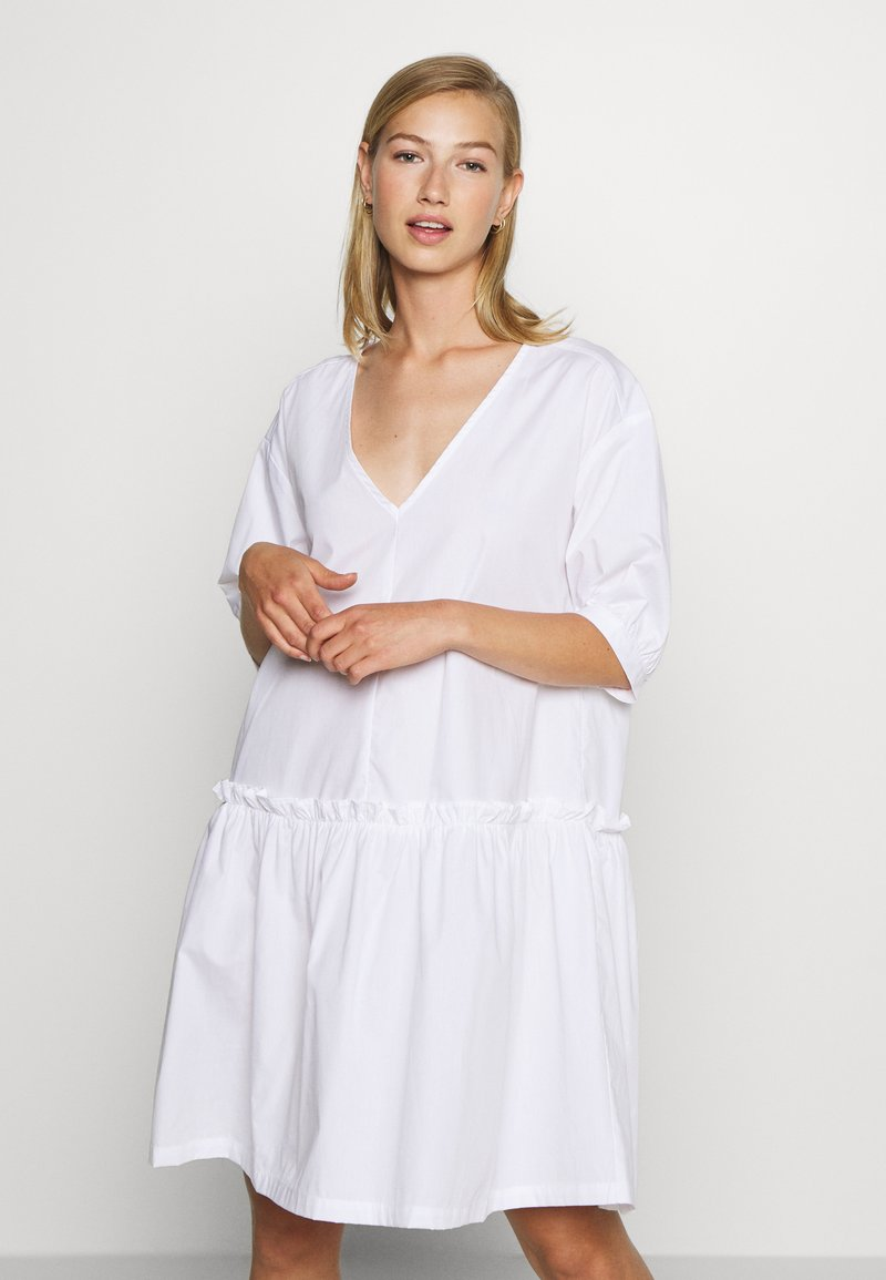 Monki - ROBIN DRESS - Day dress - white light